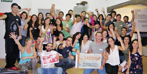 Encuentro Superhabitos de Enero de 2015, 40 personas productivas