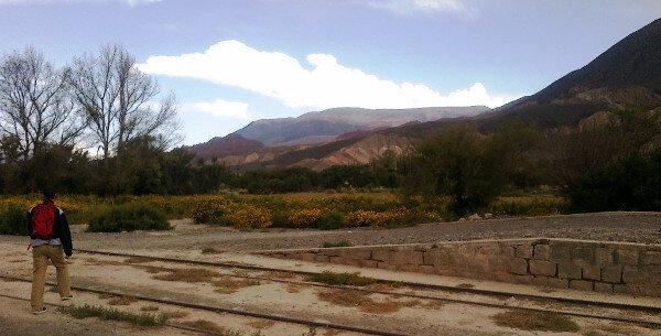 Puntos extras por complementar la rutina diaria con un paseito al aire libre el fin de semana ;) Esto es en Gobernador Solá (Salta)