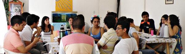 La Comunidad de Salta, trabajando en el encuentro de Septiembre.