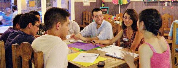 El Equipo Azul, hablando de habitos y emprender en Noviembre