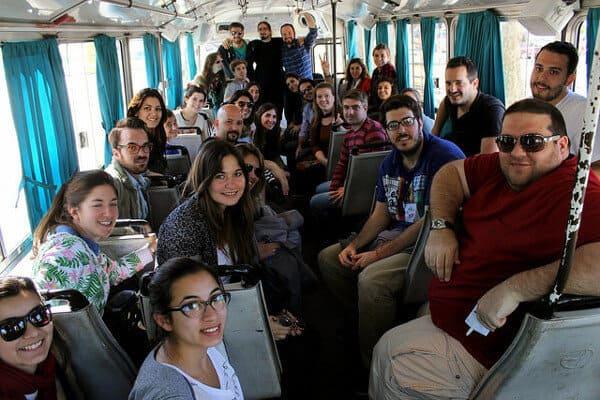 Una foto de Lisandro Bregant con los asistentes al Xperiencias Rosario, en el marco de TEDx