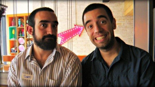 Santiago Salom y Matías Salom en el Encuentro de Superhábitos