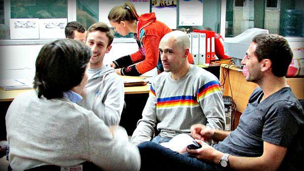 Una foto del taller en UNMdP de Superhábitos