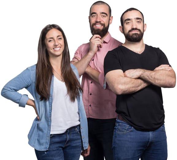 Lucía Serrano, Santiago Salom y Matías Salom - El Equipo de Superhábitos