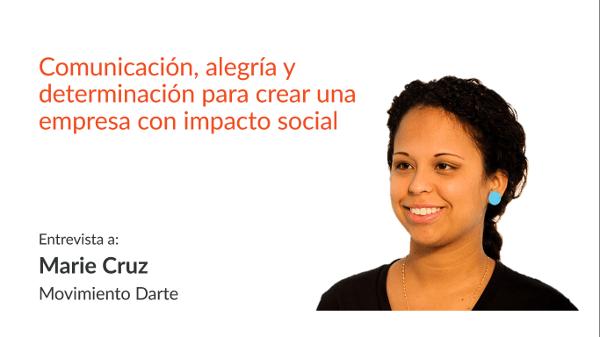 María Elena Cruz - Movimiento Darte