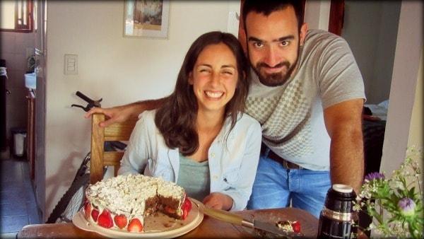 El espacio del comedor nos ancla a cosas como esta: un festejo de cumpleaños :)