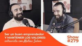 Entrevista emprendedor Matías Salom